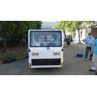 Buy cheap White FAAM Baggage Towing Tractor Carbon Steel Material Low Consumption product