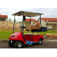Buy cheap Energy saving 2 Seater Golf Cart , Electric Security Patrol Vehicles For Personal Transport from wholesalers