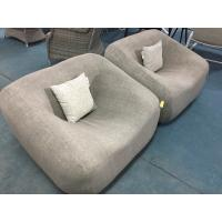 Buy cheap soft fabric sofa with fast dry foam  for Home. Hotel, Garden and Beach by Clover Lifestyle Outdoor Furniture Sofa Set from wholesalers