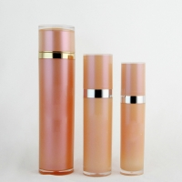 Buy cheap ISO9001 Makeup 3.4oz 100ml Hdpe Empty Lotion Pump Bottles product
