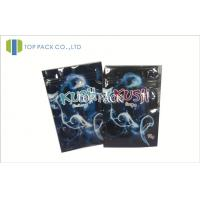 Buy cheap Resealable Foil Herbal Incense Bags With Zipper Custom Size And Color product