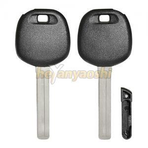 Buy cheap High Security Long Blade Toyota / Lexus transponder key shell Pop Style Key Blank product