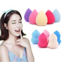 Buy cheap Comfortable Beauty Makeup Accessories Pink Egg Shaped Sponge Makeup product