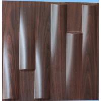 Buy cheap Deodorizing PVC TV Background Wallpaper Wood Texture Composite Wall Panels Green from wholesalers