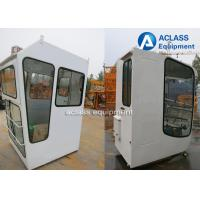 Buy cheap White Tower Crane Cabin Industrial Machinery Parts With Brand / Contact Information from wholesalers