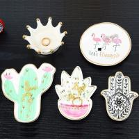 Buy cheap Ceramic Jewelry Plates, Ring Holders from wholesalers