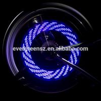 Buy cheap Bike and Bicycle wheel light 7 LED 30 rainbow colorful patterns Functions led wheel light from wholesalers