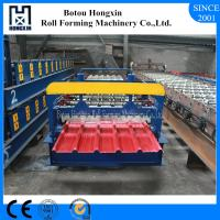 Buy cheap ISO Steel Roll Forming Machine , Galvanized Roofing Sheet Roll Forming Machine from wholesalers