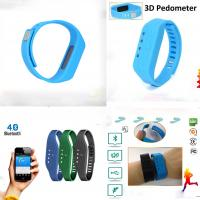 Buy cheap Pedometer Bracelet Smart Wristband Bluetooth 4.0 Calorie Activity Counter Fitbit Flex Similar WP808 from wholesalers