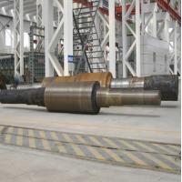 Buy cheap 30Cr2Ni4MoV Alloy Steel Forging The Shaft 8000KW - 1000MW Steam Turbine Rotor product