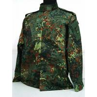 Buy cheap German Camo Woodland Military Uniform For 35% Cotton And 65% Polyester from wholesalers