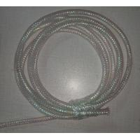 Buy cheap White Color Braided Wire Mesh Sleeve Fire Resistance For Computer Electric Power Lines from wholesalers