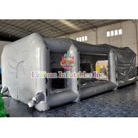 Buy cheap Customized Mobile Automatic Inflatable Spray Paint Booth / Car Tent Cover from wholesalers