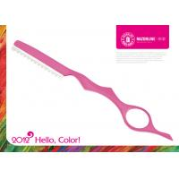 Buy cheap H2 Pink Teflon Coating Cobalt Alloy Professional Hairdressing Scissors Hair Cutting Shears from wholesalers