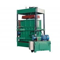 Buy cheap 2.2 KW Power Vertical Cardboard Paper Baler Machine With Special Forklift from wholesalers