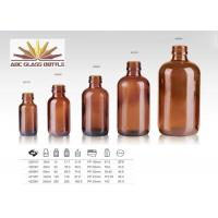 Buy cheap Trustworthy China Supplier Amber Glass Bottle For Amber from wholesalers
