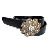 Buy cheap Light Pink Eyelet Canvas Belt For Garment from wholesalers