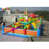 Buy cheap Playground Inflatable Amusement Park Toys , Jump Houses Customized from wholesalers