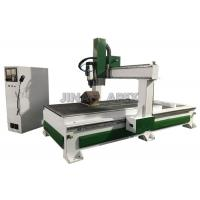 Buy cheap Computer Controlled Cnc Wood Cutting Machine , Auto Calibrate Tool Sensor Cnc Wood Carving Machine from wholesalers