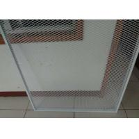 Buy cheap 2mm Thickness Expanded Metal Sheet Galvanized Powder Coated Guard 96inch * 27ft For Window Door from wholesalers