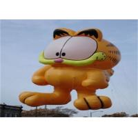 Buy cheap Advertising Inflatable Cartoon Cat Character Balloon , Giant Animals Flying Ball from wholesalers