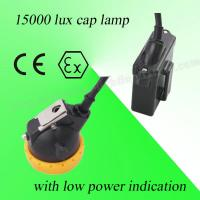 Buy cheap Safety 3V Rechargeable LED Miners Cap Lamp 110MA Waterproof With 6.5Ah Battery from wholesalers