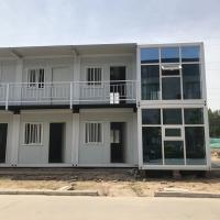 Buy cheap Portable 20ft Cheap Flat Pack Sandwich Panel Container House for Camp with certificate from wholesalers