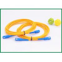 Buy cheap Single Mode Fiber Optic Patch Cord FTTH 0.9mm 2mm 3mm Patchcord from wholesalers