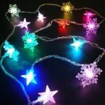 Buy cheap LED colorful light christmas tree ornaments decoration  LED string light,LED rope light, LED meteor rain light, net ligh from wholesalers