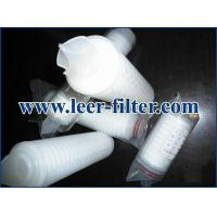 Buy cheap Leer PP Pleated Filter Cartridge from wholesalers