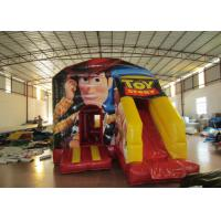 Buy cheap Toy story themed inflatable combo disney woody inflatable small combo for children with digital printing from wholesalers