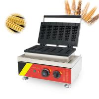 Buy cheap Stainless Steel Snack Food Making Machine and Waffle Maker lolly waffle machine from wholesalers
