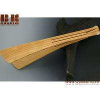 Buy cheap Wood folding tongs handmade salad servers from reclaimed cherry wood from wholesalers