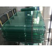 8mm Thick Heat Treating Tempered Safety Glass Window And Door
