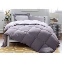 Buy cheap Solid Warm Purple Down Alternative Comforter Twin / Queen / King Size Machine Wash from wholesalers