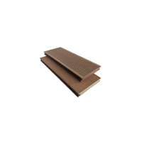 Buy cheap Flat Grain 120mm 19mm 2.2meter Solid Core WPC Board from wholesalers