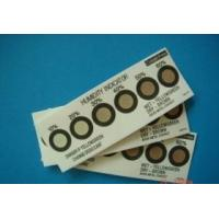 Buy cheap 6 spot cobalt free humidity indicator card, 10-60%RH, brown-azure from wholesalers