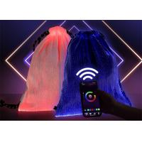 Buy cheap Outdoor Cycling Aluminum LED Flashlight APP Music Control Glowing Drawstring Bag from wholesalers