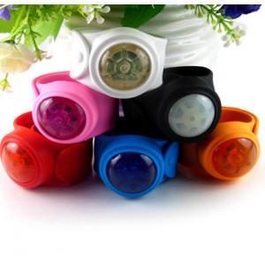 Buy cheap slap led wrist band,  led snap bracelet product