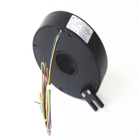 Buy cheap Aluminium Alloy Housing IP40 30mm Pancake Slip Ring from wholesalers