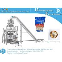 Buy cheap Doypack with ziplock stand up pouch filling machine for frozen food ravioli dumplings from wholesalers