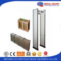 Buy cheap 18 Zones Walk Through Security Metal Detectors / Archway Metal Detector With Sound Alarm from wholesalers