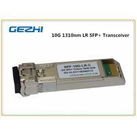 Buy cheap 10km LR DDM 10G SFP+ Transceiver , LC optical fiber transceiver Compatible Cisco product