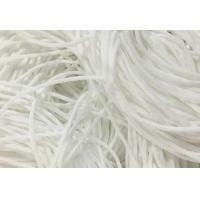 Buy cheap Eco Friendly Round Stretchy Elastic String Cotton Material High Tenacity from wholesalers