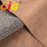Buy cheap Waterproof Fire Resistant Printed Sofa Upholstery Fabric With Brushed Backing from wholesalers