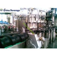 Buy cheap Soft Carbonated Drink Filling Machine Automatic Glass Bottle Rotary Type from wholesalers