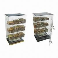 Buy cheap Acrylic Cigar Display Humidor with Humidifier and Hygrometer from wholesalers
