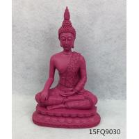Buy cheap Resin buddha/ color buddha statue/polyresin statue of buddha/rose red from wholesalers