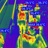 Buy cheap Smart helmets featuring infrared temperature detector and code-read cameras from wholesalers