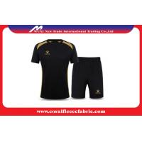 Buy cheap Short Quick Dry Customized Soccer Jerseys Track Suits Adults Sportswear M - XXXL from wholesalers